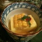 魚菜 由良 - モロコシ豆腐