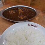 DELHI - ご飯の量がすごいです!!(゜ロ゜ノ)ノ