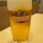 原了郭 - 生ビール 550円