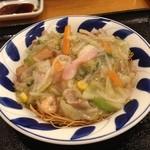 リンガーハット - スモール皿うどん420円☆(第二回投稿分①)
