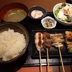 Sumiyakikicchintenten - 本日の定食