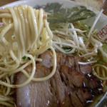 二代目おかだラーメン - 第一回投稿分の岡田ラーメン麺アップ