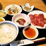 成田屋 - 焼肉定食(850円)