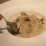 ヴィラッツァ - いろいろキノコの玄米チーズリゾット ★いっしーリコメンド