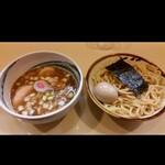 東池袋大勝軒 木更津 - 料理写真:マタオマつけ麺のいわば元祖なビジュアル