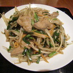 美叙飯店 - レバニラ炒め