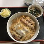 翠蘭亭 - 料理写真:カツ丼