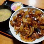 河津屋食堂 - 料理写真:肉丼(上) 750円
