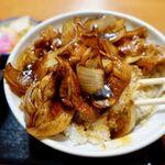 河津屋食堂 - 肉丼(上) 750円