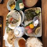 網元料理あさまる - 日替わりお楽しみ御膳(1,505円+税)