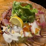 ピカピカアミーゴ - 鮮魚のカルパッチョ¥780(税抜)