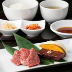 肉屋 金星 - ランチ レバニラ&焼肉