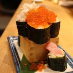 寿司と天ぷら ニューツルマツ - とよ越え(1,880円)