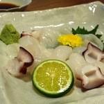 魚眞 - たこ刺し