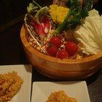 Menyashukateppuu - お野菜盛り ハーフ