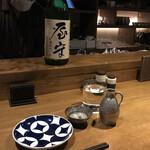 日本酒バル ゆすら堂 - 屋守 純米。                                 美味し。