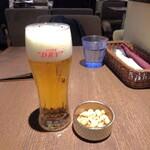 141419147 - 生ビールとおとおし