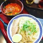 優勝軒 - 坦々みそつけ麺 中盛(1,000円)