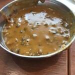 ニルワナム - 豆カレー