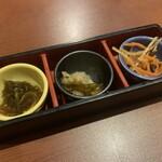 千年の宴 - お通し…380円+税