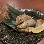 千年の宴 - かつおハラスの炭火炙り焼き…490円+税