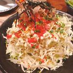 魚河岸酒場 FUKU浜金 - お好み焼き風サラダ