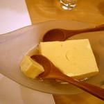よしはら - ≪2012年8月≫柚子風味卵豆腐