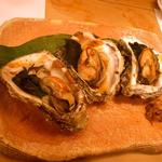 よしはら - ≪2012年8月≫牡蠣醤油焼き。