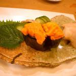 よしはら - ≪2012年8月≫ウニのお寿司。