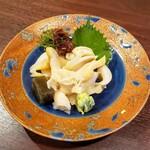 和洋心菜 柾風 - つぶ貝刺身 900円