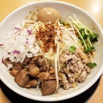 麺豪 織蔵 - 料理写真:まぜそば 850円