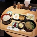 湯ラックス - 料理写真:和食セット500円
