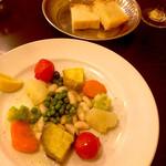 141445555 - ランチセットの温野菜