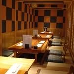 奈間蔵 栄 - 料理写真:掘りごたつ座敷