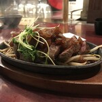 大阪大衆鉄板焼き酒場 てっちゃん - 牛ひれ肉ステーキ