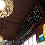 141455430 - 店の飾ってある昔ながらのメニュー