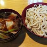 141455453 - 大盛り肉汁うどん(¥800)