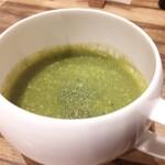 141456921 - ⚫ほうれん草のスープ