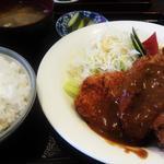 キッチンハウスマスダ - チキンカツ定食 700円