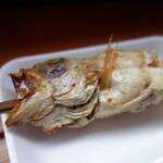 日本海 - ノドグロ串焼き