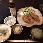 かなわ - ランチ・かきフライ膳