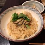 かなわ - ランチの牡蠣飯