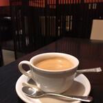 かなわ - ランチに付く飲み物 コーヒーをセレクト