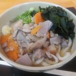 製麺七や - 料理写真:しっぽくうどん(大)