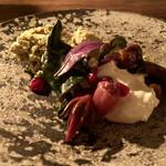 胃袋 - 枝豆とグリーンオリーブアーモンド