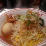 蒙古タンメン中本 - 料理写真:目黒店は「冷・冷味噌ラーメン」です。