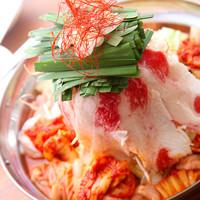 高架下 チエちゃん - チエちゃん特製肉モツ鍋。絶対食べて!美味しいから!!