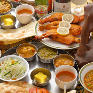 本格インド料理が味わえる!