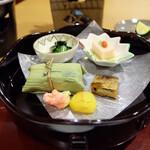ホテル春日居 - 料理写真:夕食の前菜盛り合わせ