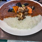 ころしのカレー - 料理写真:野菜カレー